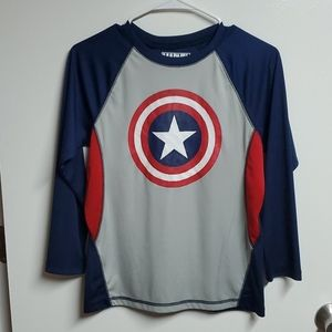 Captain America long-sleeve